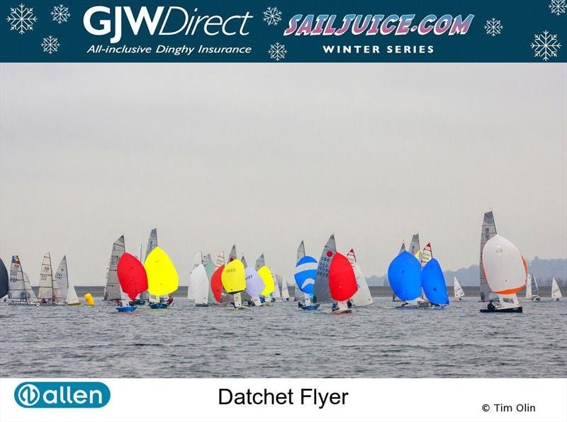 GJW Direct SailJuice Winter Series Datchet Flyer - photo © Tim Olin / www.olinphoto.co.uk
