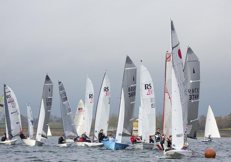The Fernhurst Books Draycote Dash takes place on 18-19 November 2017 photo copyright Tim Olin / www.olinphoto.co.uk taken at Draycote Water Sailing Club and featuring the Dinghy class