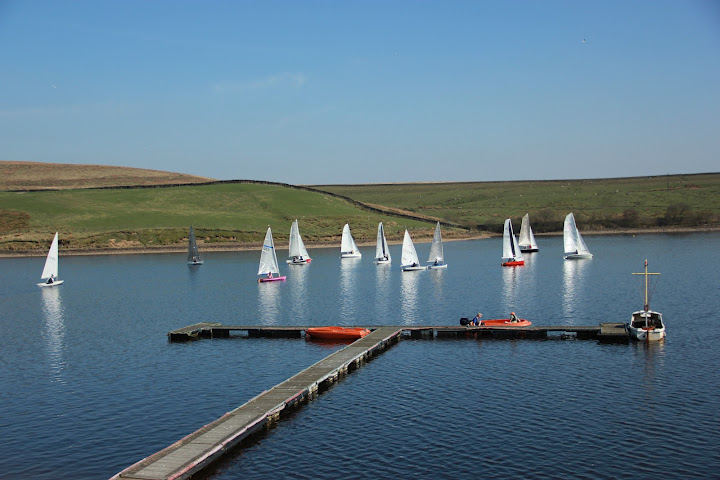 Sailing starts in Bolton Sailing Club Diamond Jubilee year