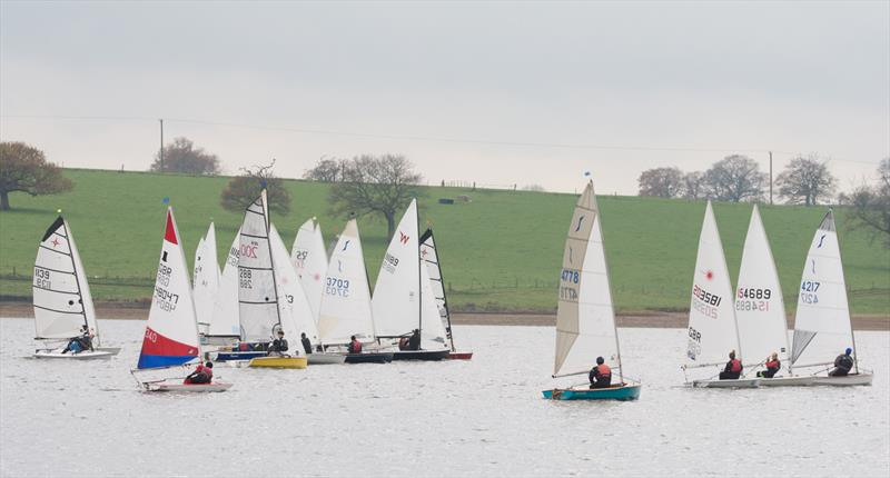 Blithfield Barrel Winter Series 2017-18 Round 2 photo copyright Iain Ferguson taken at Blithfield Sailing Club and featuring the Dinghy class