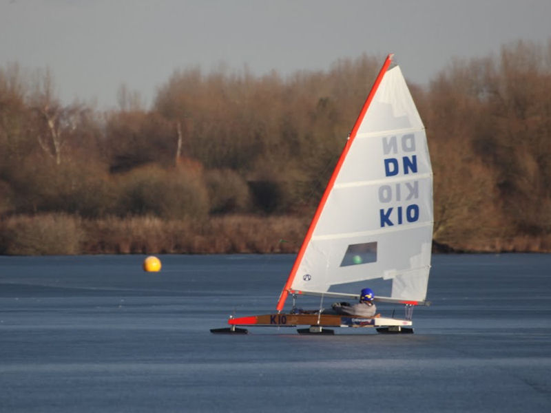 British Dn Ice Yacht Champs At Leigh Amp Lowton Sailing Club