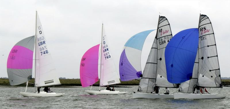 Dragons and Elites during Bart's Bash 2016 event in Burnham - photo © George Winder