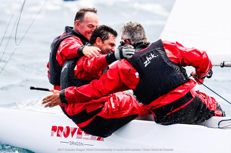 Team Provezza win the Dragon Worlds at Cascais - photo © Paulo Moreira