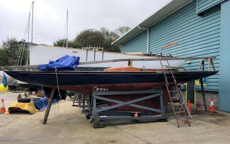 Royal Yacht Bluebottle before renovations - photo © David Heritage