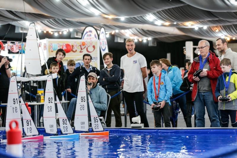Model yachting at the RYA Dinghy Show 2020 - photo © Paul Wyeth / RYA