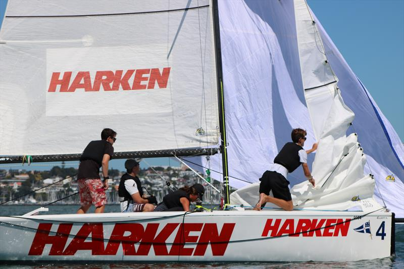Harken Schools Regatta at Royal New Zealand Yacht Squadron - photo © Georgia Witt
