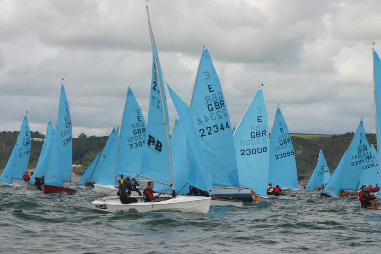 enterprise nationals at tenby sailing club