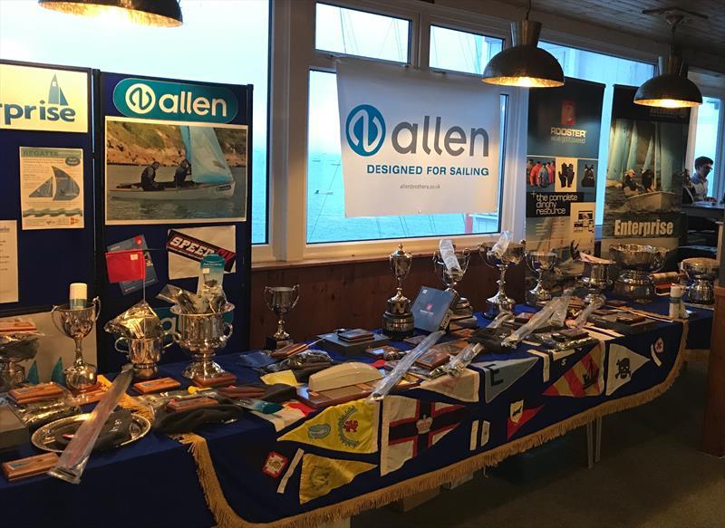 Allen Prizes in the Allen 2017 Enterprise Nationals at Abersoch - photo © Enterprise Association