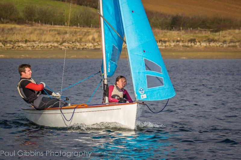 Neil and Sophie Barrett win the Enterprise Winter Championship  - photo © Paul Gibbins Photography