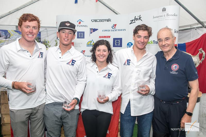 USA Youth Team take second place, and the Olin Stephens Trophy, in The Gertrude Cup 2017 - photo © www.sportography.tv