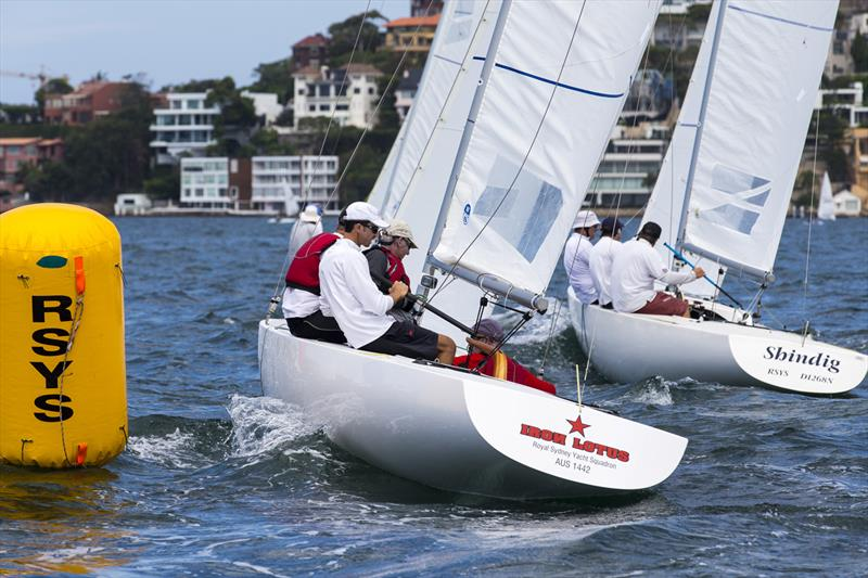 Milson Silver Goblets Regatta photo copyright Andrea Francolini taken at Royal Sydney Yacht Squadron and featuring the Etchells class