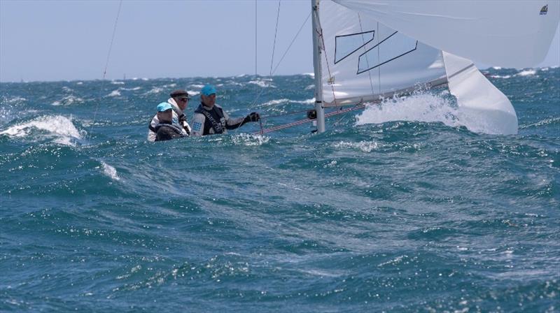 Day 2 - Downwind - Etchells Australian Championship - photo © Ron Jensen