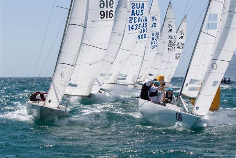 Day 3 - Etchells Australian Championship at Fremantle - photo © Ron Jensen