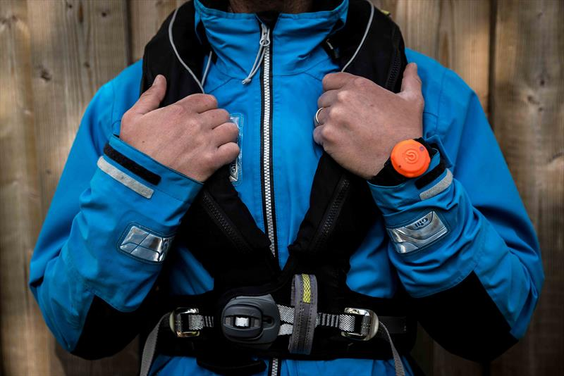 How to wear your OLAS tags - photo © Exposure Marine