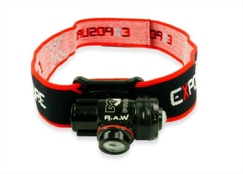 Exposure RAW headband - photo © Exposure Lights