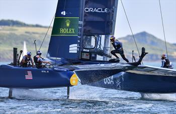 US SailGP Team hunts elusive win