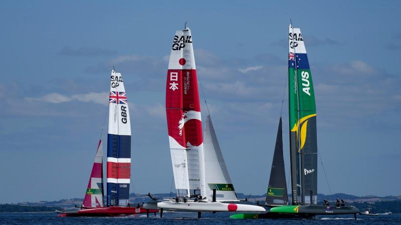 Day 2 of the ROCKWOOL Denmark Sail Grand Prix - photo © Thomas Lovelock for SailGP