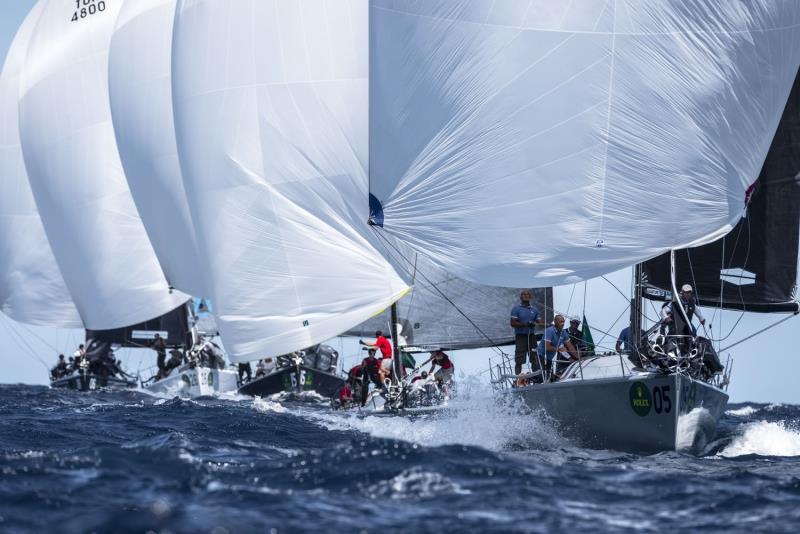 Downwind on Rolex Farr 40 World Championships day 4 - photo © Rolex / Kurt Arrigo