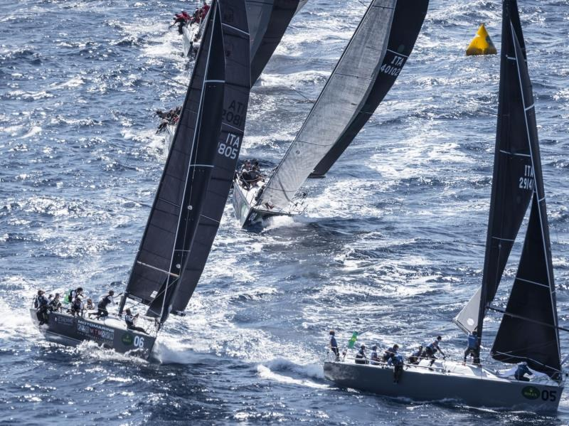 Pazza Idea and Enfant Terrible on Rolex Farr 40 World Championships day 4 - photo © Rolex / Kurt Arrigo