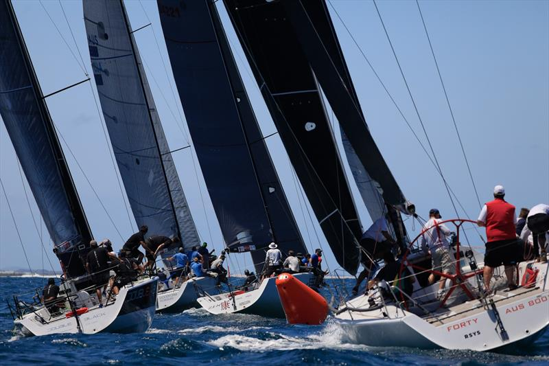 Farr 40 fleet at the Newcastle OD Trophy - photo © Allan Coker Photography