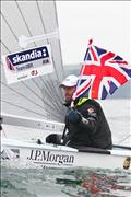 Ben Ainslie wins the JP Morgan Finn Gold Cup