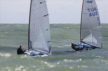 The Finn class partners with the Dinghy Academy in Valencia
