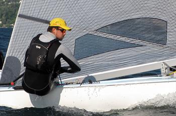 Jorge Zarif ahead of the 2013 Finn Gold Cup