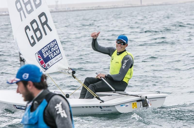Nick Thompson at Sailing World Cup Weymouth and Portland - photo © Jesus Renedo / Sailing Energy / World Sailing