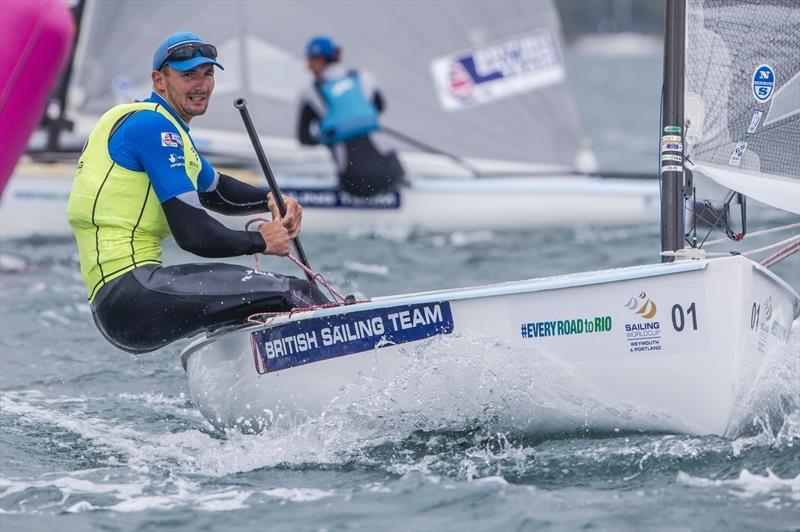 Giles Scott wins Sailing World Cup Weymouth and Portland - photo © Jesus Renedo / Sailing Energy / World Sailing