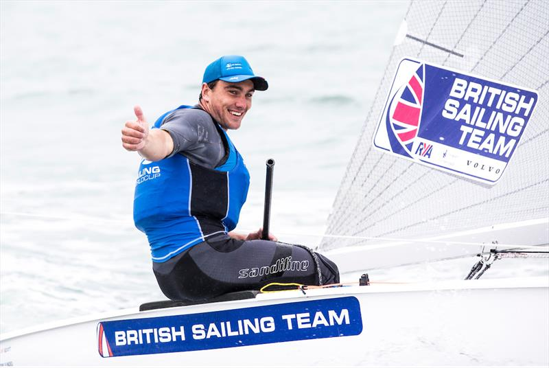 Ben Cornish at World Cup Series Miami - photo © Pedro Martinez / Sailing Energy / World Sailing