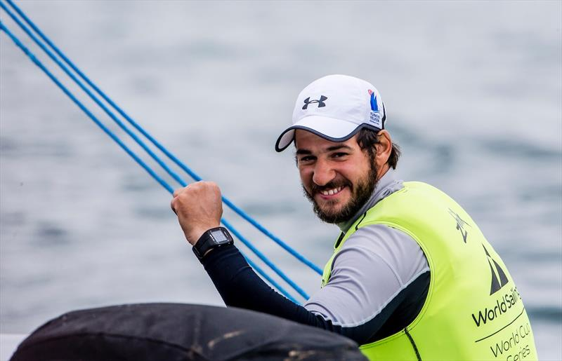 Finn gold for Kaynar at World Cup Hyères - photo © Jesus Renedo / Sailing Energy / World Sailing
