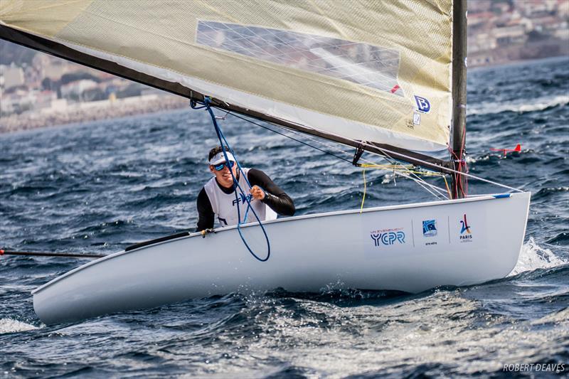 Jonathan Lobert (FRA) wins the Finn Europeans in Marseille - photo © Robert Deaves