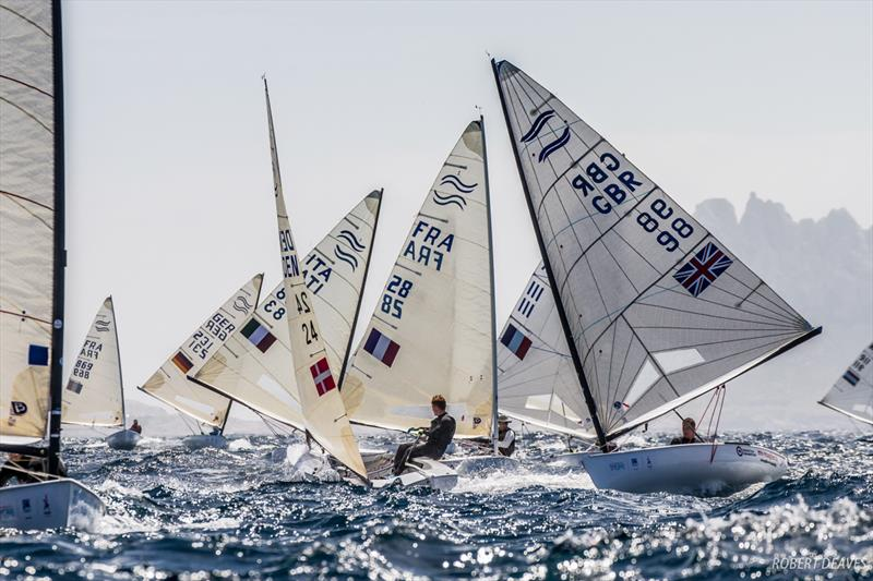 Great conditions for Race 10 at the Finn Europeans in Marseille - photo © Robert Deaves