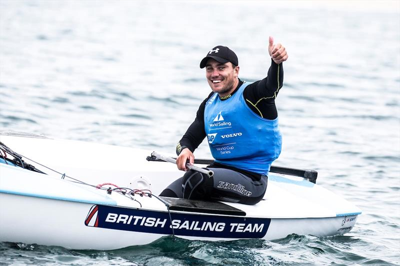 Finn Gold for Ben Cornish at the World Cup Series Final in Santander - photo © Pedro Martinez / Sailing Energy / World Sailing
