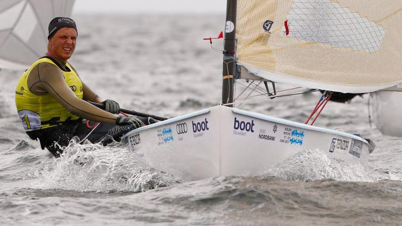 Deniss Karpak wins the Finn class at Kieler Woche 2017 - photo © Kieler Woche / okPress