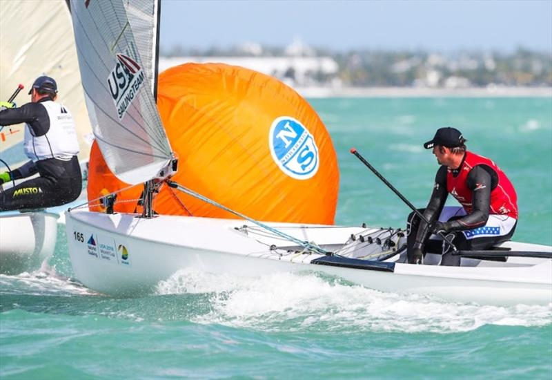 Caleb Paine (San Diego, Calif.) – World Cup Series Miami - photo © Jesus Renedo / Sailing Energy / World Sailing
