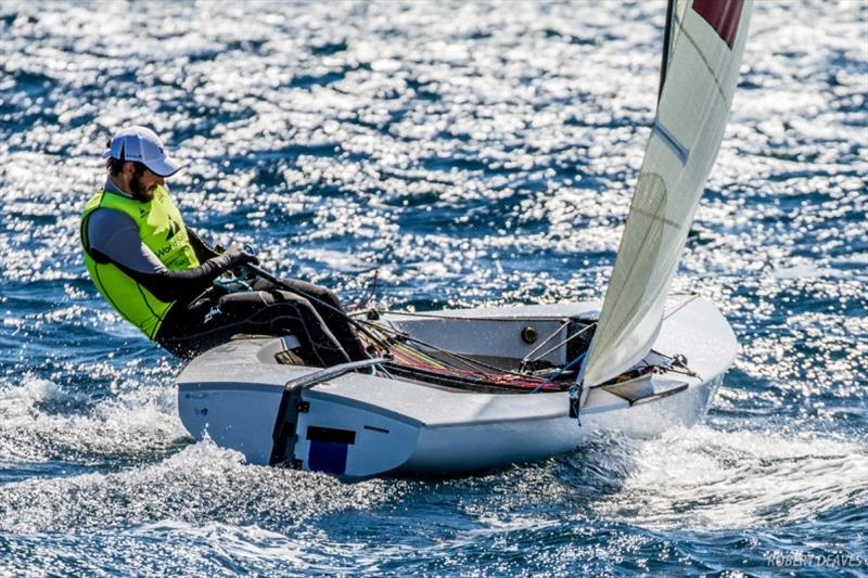 Alican Kaynar won the WC Series event in Hyeres last year photo copyright Robert Deaves taken at  and featuring the Finn class