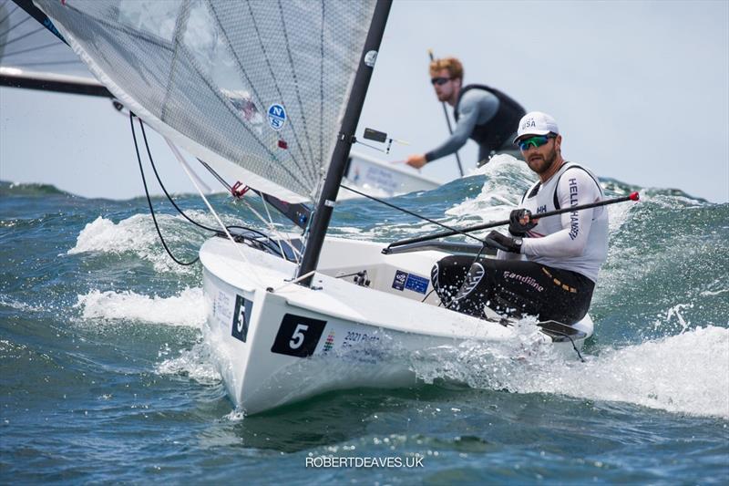 Finn Gold Cup - Luke Muller - photo © Robert Deaves