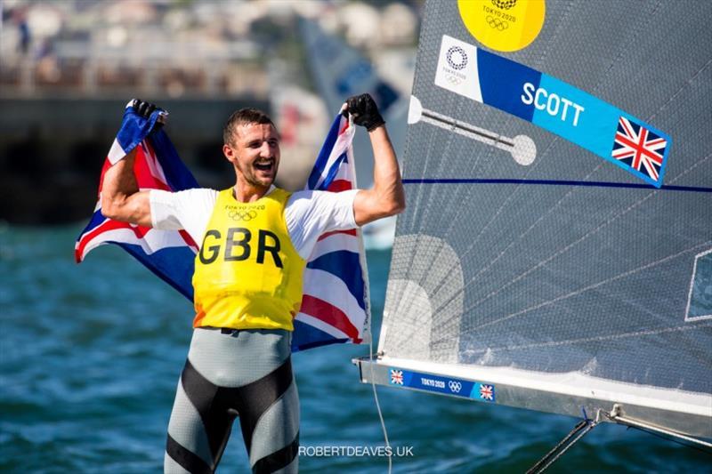 Giles Scott - Tokyo 2020 Olympic Games - photo © Robert Deaves