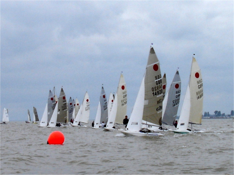 The Fireball fleet was joined by the Merlin Rockets and Contenders at ...