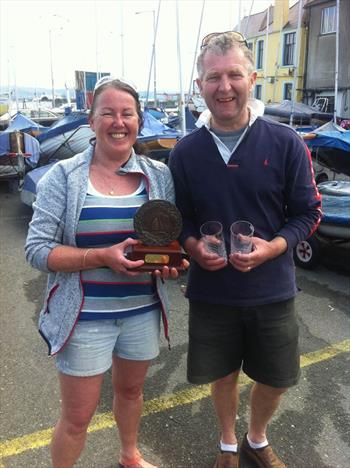 Winners of the Classics Event at Clontarf: Margaret Casey & Neil Colin