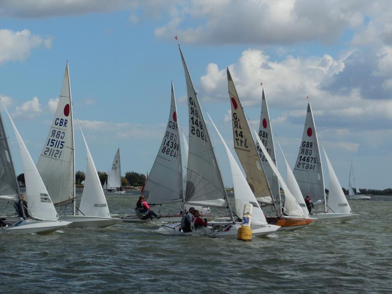 Fireballs during Blackwater Sailing Club Week