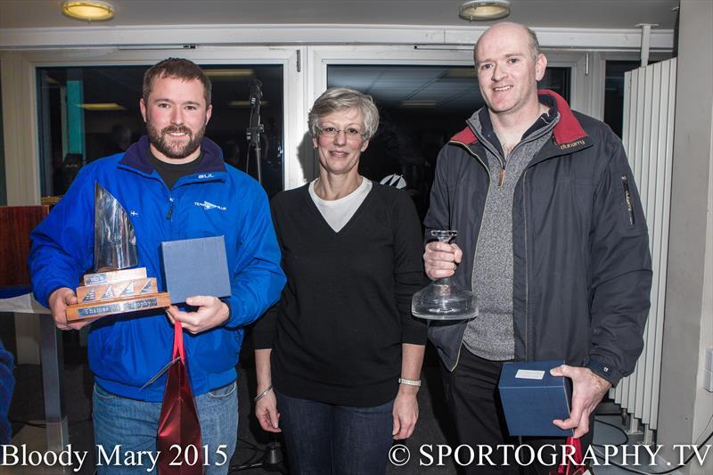 Tom Gillard and Richard Anderton win the 2015 Bloody Mary Pursuit Race - photo © Alex Irwin / www.sportography.tv