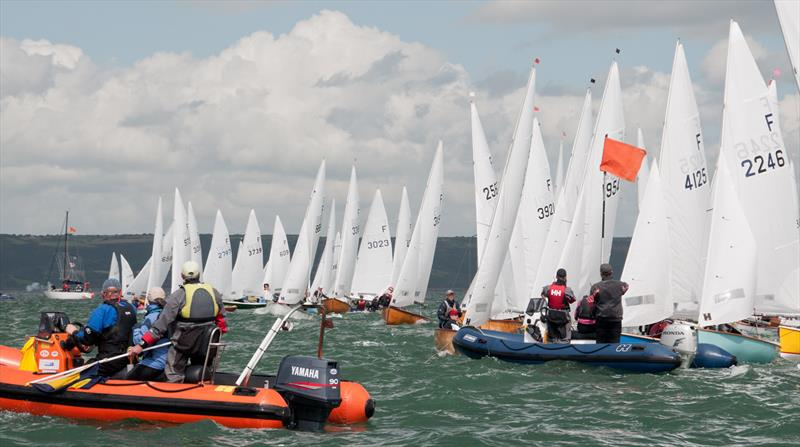 firefly 70th anniversary championship at tenby sailing club