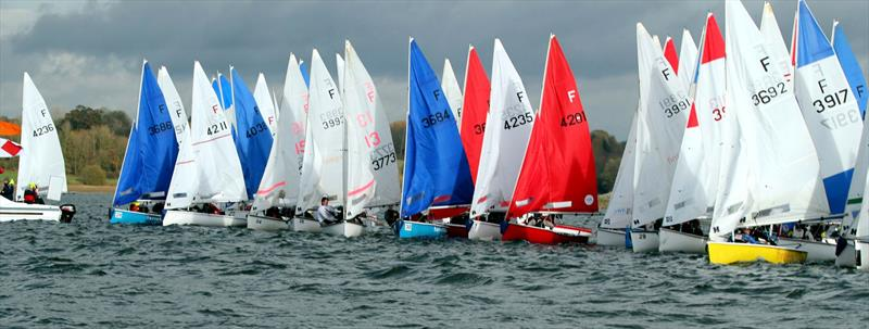 Firefly start during the BUCS Fleet Racing Championships - photo © Tony Mapplebeck
