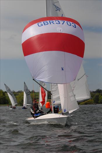 Flying Fifteens at Chew Valley Lake