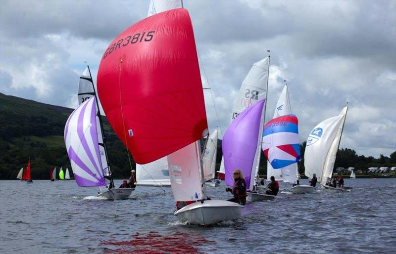 The ONE Bassenthwaite Lake Sailing Week 2016 first weekend - photo © John Spittle
