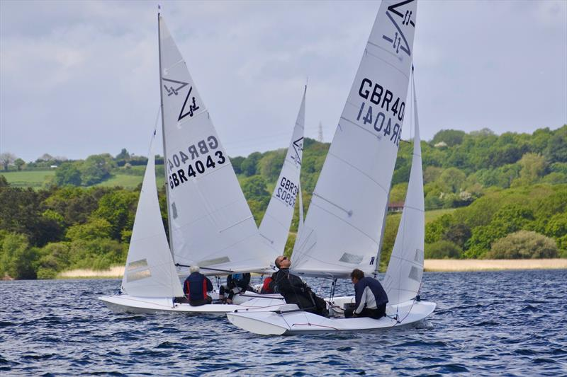 Flying Fifteen Inlands at Chew Valley Lake photo copyright Errol Edwards taken at Chew Valley Lake Sailing Club and featuring the Flying Fifteen class