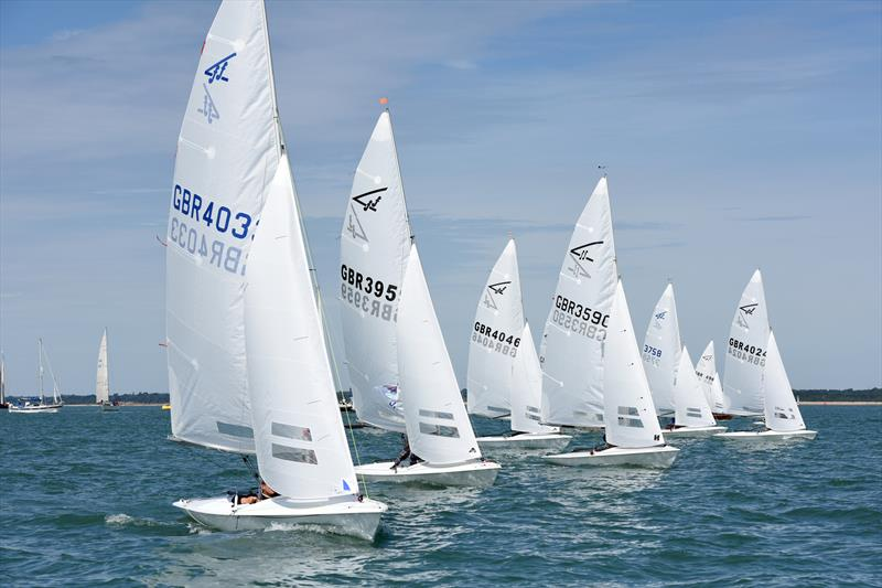 Flying Fifteens at Charles Stanley Direct Cowes Classic Week - photo © Rick Tomlinson / <a target=