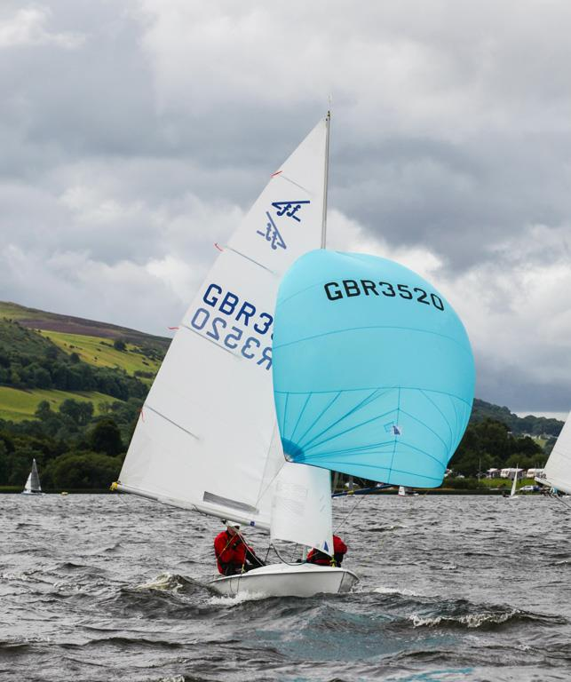 The One Bassenthwaite Lake Sailing Week first weekend photo copyright John Spittle taken at Bassenthwaite Sailing Club and featuring the Flying Fifteen class